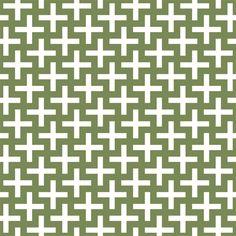Cross Me Green contact paper