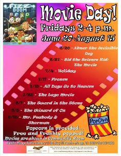 Friday Movie Day!