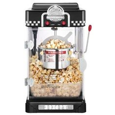 Great Northern Popcorn 2-1/2-Ounce Black Tabletop Retro Style Compact Popcorn Popper Machine with Removable Tray - If you are in the market for a popcorn popper, stop looking. These Great Northern Popcorn top quality machines. The Little Bambino popc