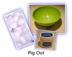 PIG OUT: This is a fun party game. Good for all ages and great for sleepovers. It works well for Christmas, and for family parties.  GET READY  You n...
