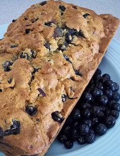 Homemade Blueberry Bread recipe