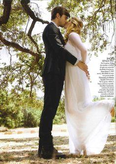 ELLE SPOSE ITALY – AW 2011/12 #bride #wedding #albertaferretti #editorial #magazine #fashion #white #dress #elle