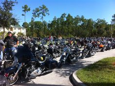 Bikers for Babies event.  Very cool