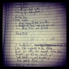Blue october love on pinterest blue october lyrics for 18th floor balcony lyrics