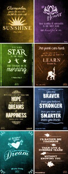 Disney's full of words of wisdom.