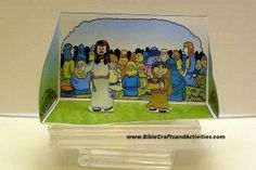 Little Boy's Lunch - Jesus Feeds the 5000 Craft - Diorama