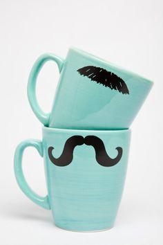 Turquoise Mug Set