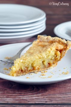 Macadamia Nut Butterscotch Pie