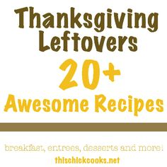 20+ Awesome Recipes using Thanksgiving Leftovers turkey turkey, scratch recip, homemad recipi, chick cook, thanksgiv leftov, dumpl recip, awesom recip