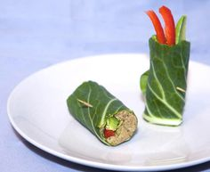 Raw 'Refried Beans' Wrap