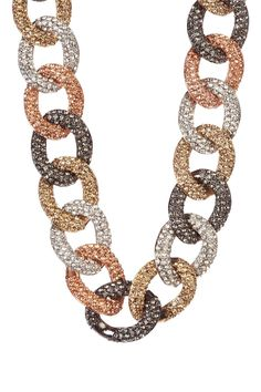 Meghan Fabulous Janey Necklace In Multi Color