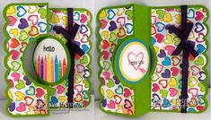 #Sizzix, #Flip its, #The stamps of life, I used Crayons2stamp set from The stamps of life