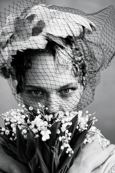 Best Wedding Bouquets Vogue Archives Photo by Arthur Elgort