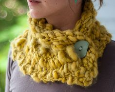 Free Knitting Pattern - Cowls and Neck Warmers: Wasabi Cowl