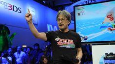 Eiji Aonuma at E32013 for Zelda #TWWHD showcase