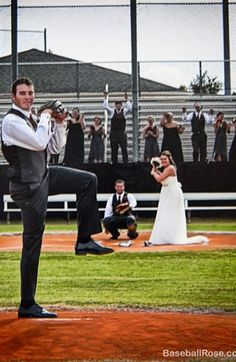 Kasie and Clint got married on his high school baseball field. He is a pitcher in the Atlanta Braves minor league system. This was a fun pos...