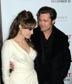 Angelina Jolie and Brad Pitt at The Tourist premiere