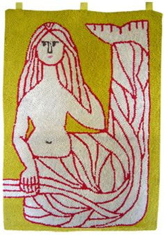 MID-CENTURIA : Art, Design and Decor from the Mid-Century and beyond: Evelyn Ackerman Tapestries II nylon, tapestri