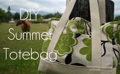 sew, idea, crafti, diy summer, web site, summer totebag, fashion merchandising, bag tutorials, tote bags
