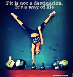 It's a way of life! #fitness #abs #kettlebell