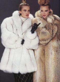 Blue Fox & Coyote Fur Coats