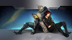 Good Night Shepard. by ~Wei723 on deviantART
