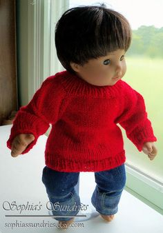 Sophia's Sundries (formerly Frugal Ideas from the Parsonage): Free Knitting Pattern: Basic Seamless Bitty Pullover