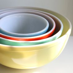 vintage mixing bowls--i have these!