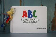 ABC Scripture Printables...a scripture for each letter of the alphabet!