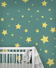 Yellow Star Wall Decals.