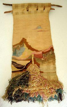 Tapestry California Object Abstract Art Mid Century Modern Eames Era   eBay