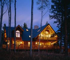 See the floor plan for this log home, http://www.montanaloghomes.com/tier.php?cat=54=floorplans