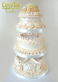 lavish society wedding cake2