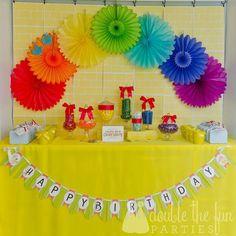 Baby shower idea over the rainbow