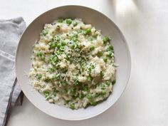Risotto With Yogurt and Peas Recipe : Food Network Kitchen : Food Network - FoodNetwork.com