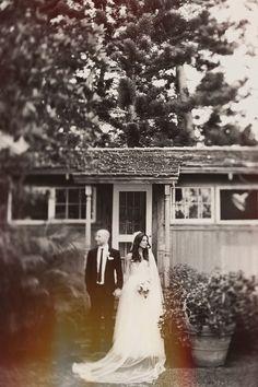 wedding portrait, photo by Tamiz Photography http://ruffledblog.com/haiku-mill-wedding #weddingideas #weddingportrait