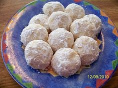 Robin McGraw's Almond Cookies (Have been making these for Christmas for many years... they are fabulous!!)