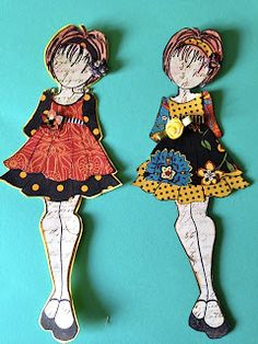 Prima Doll Stamps for tags