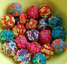 Scumble crochet beads