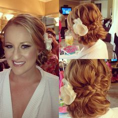 bridesmaid hair, wedding bridesmaids