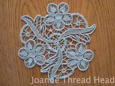 Thread Head: Intermediate Level ~ Romanian Point Lace Tutorial