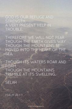 Psalm 46:1-3 | ESV