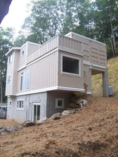 5 Shipping Container Home in Boone, NC