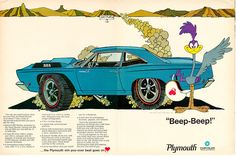 1968 Plymouth Road Runner advertisement
