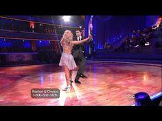 Season 14, Week 7:  Roshon Fegan & Chelsie Hightower dance Argentine Tango