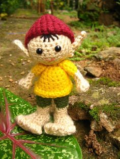 Amigurumi Elf Crochet Pattern PDF by MADSBEAR.