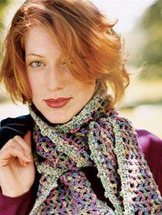 8 Cozy Crochet Crafts picot edg, home craft ideas, crochet scarv, home crafts, picotedg scarf, crochet crafts, crochet patterns, spring crafts, scarf patterns