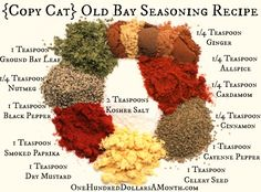 DIY {Copy Cat} Old Bay Seasoning Recipe