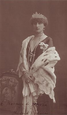Queen Augusta Victoria of Portugal, nee Pss of Hohenzollern-Sigmaringen.
