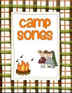 Girls Camp Song Book